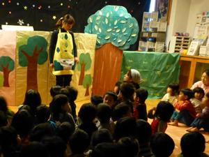 鹿児島市松青保育園の取り組み お話の世界