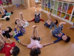 鹿児島市松青こども園の取り組み 幼児体育