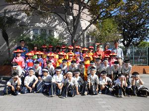 鹿児島市松青保育園の取り組み 谷山地区行事への参加