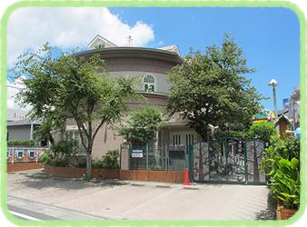 松青保育園は鹿児島市谷山中央の静かな住宅街にあります