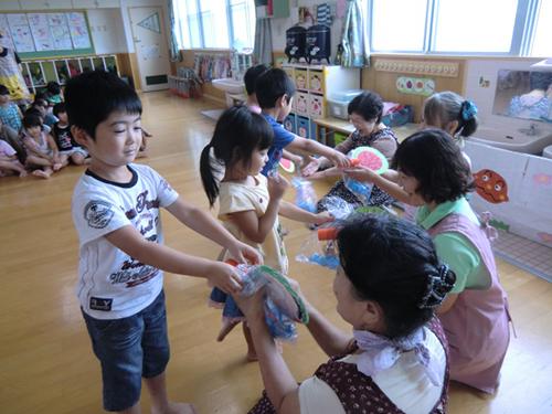 ほほえみ交流会 (緑組)
