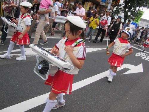 ふるさと祭り(藤・緑組)