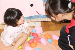 今日のきりん組さん(2歳児)☆