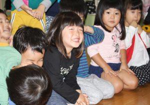 今日のあお組さん(3歳児)☆
